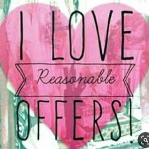 Make me a reasonable offer!